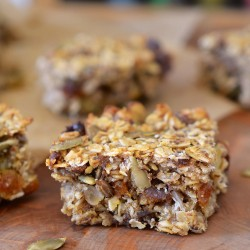 Fruit and Seed Energy Bars Recipe