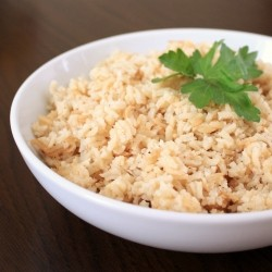 Garlic Rice Pilaf