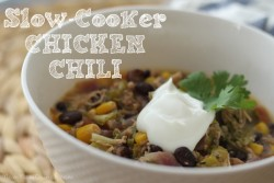 Green Chicken Chili Slow Cooker Recipe