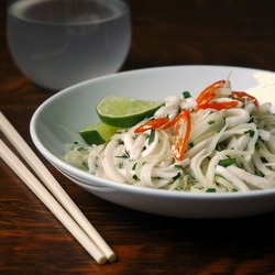 Green Papaya and Young Coconut Salad Recipe