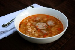 Herbed White Bean Sausage Stew