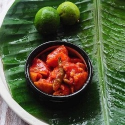 Indian style lime pickle with no oil an…
