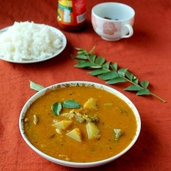 Moong Dal Sambar Lentil Curry