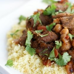Moroccan Lamb Tagine and Couscous