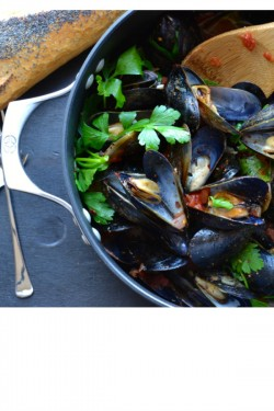 Mussels Marinara or Fra Diavolo