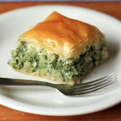 Nettle Spanakopita with Rice Feta and Ricotta