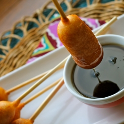 Pigs in a Blanket on a Stick Recipe
