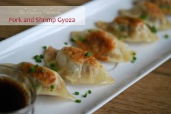 Pork Shrimp Gyozas Recipe