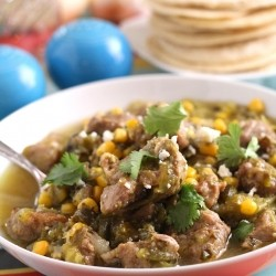 Pork Tomatillo Stew Recipe