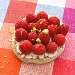 Raspberry Breakfast Tartlets Recipe