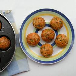 Red Lentil Fritters Recipe