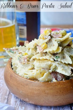 Ribbons and Bows Pasta Salad Recipe
