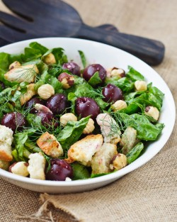 Roast Cherry Salad