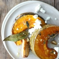 Roasted Pumpkin with Thyme Rosemary Sage and Bay Recipe