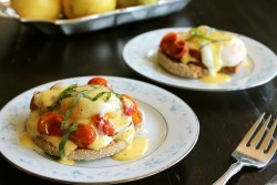 Roasted Tomato Eggs Benedict Recipe