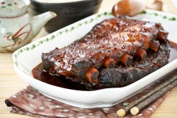 Slow Cooker Honey Spare Ribs
