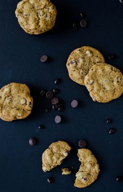 Soft Mocha Chip Cookies
