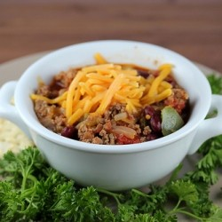 Southwest Chili Recipe