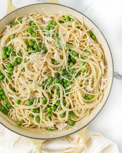 Spaghetti with Mascarpone Alfredo Sauce Recipe