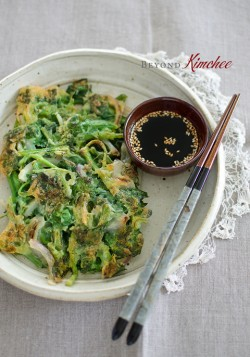 Spinach Pancakes Korean Recipe