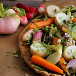 Spring Vegetable Tart Recipe