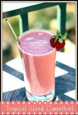 Tropical Island Smoothie Recipe