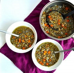 Vegan Lentil Soup Recipe