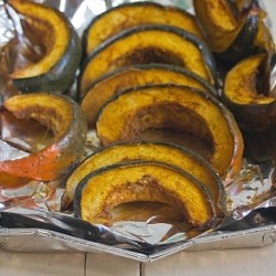 Acorn Squash with Maple Curry Recipe
