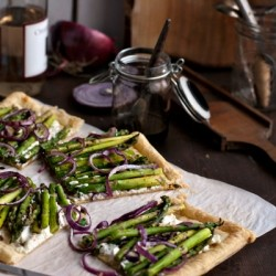 Asparagus Goat Cheese Tart Recipe