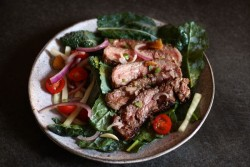 Baby Kale Steak Salad Recipe