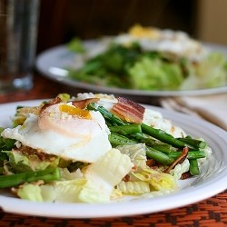 Bacon Asparagus Egg Salad Recipe