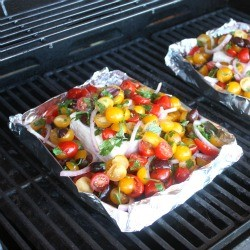 Baked Feta with Tomatoes Recipe
