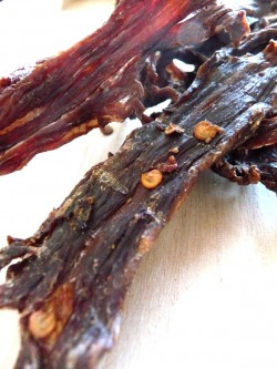 Beef Jerky with Chili in Adobo