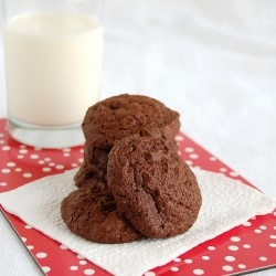 Bitter Orange Dark Chocolate Cookies