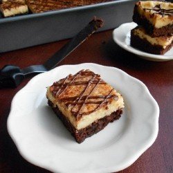 Cappuccino Cheesecake Brownies Recipe