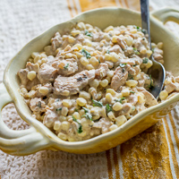 Chicken and Fresh Corn Salad Recipe