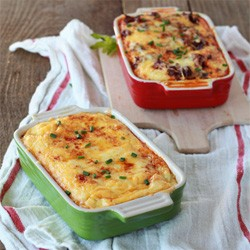 Chile Relleno Breakfast Strata Recipe