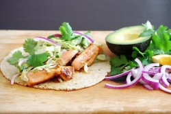 Chili Orange Salmon Tacos Recipe