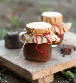 Chocolate and Banana Jam
