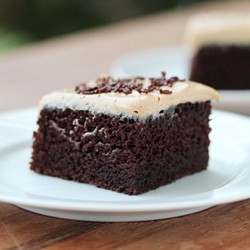 Chocolate Cake with Biscoff Cream Cheese Frosting