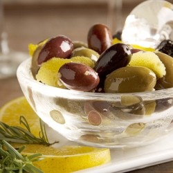 Citrus-Marinated Olives Recipe
