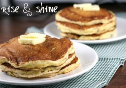 Cornmeal Buttermilk Griddle Cakes