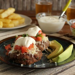 Cream Cheese Stuffed Burgers Recipe