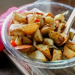 Crispy Roasted Potato Salad Recipe