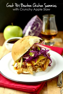 Crock Pot Bourbon Chicken Sammies Recipe