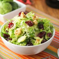 Crunchy Brussels Sprouts Salad Recipe