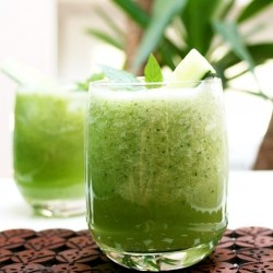 Cucumber Drink with Lime and Mint Recipe