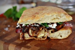 Fig Prosciutto Sandwich