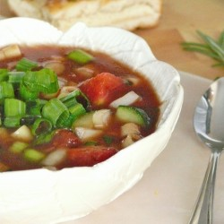 Gazpacho with Ditalini Recipe
