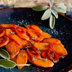 Glazed Carrots with Sage Recipe